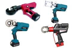 Akumulátorové a elektrické lisovací nářadí