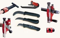 Kabelové nože a ořezávátka