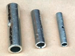 Lisovací kabelové spojky Cu