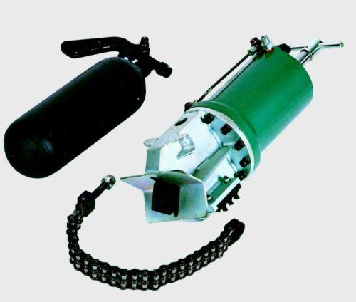 Dvojčinný zkratovač kabelů DZK-105