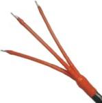 KSCMTI 2 120-240 - Vnitřní koncovka pro 3-žilové kabely do 6kV